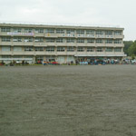 上平北小学校グラウンド